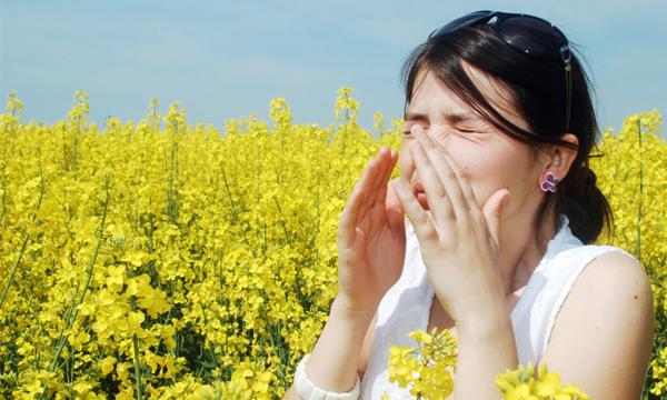Alergia primaveral deporte