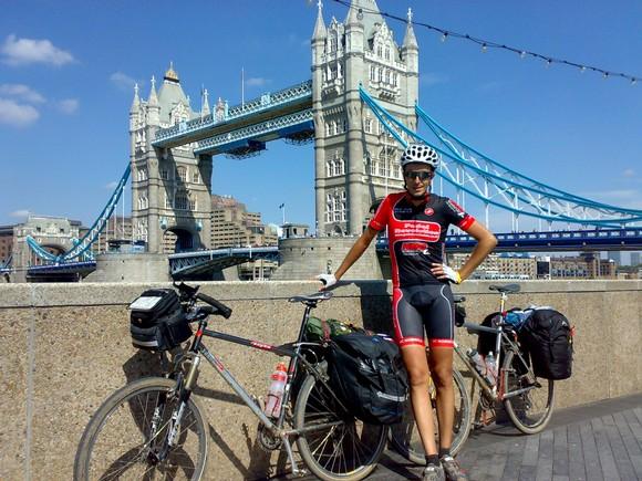 Ciclismo de larga distancia