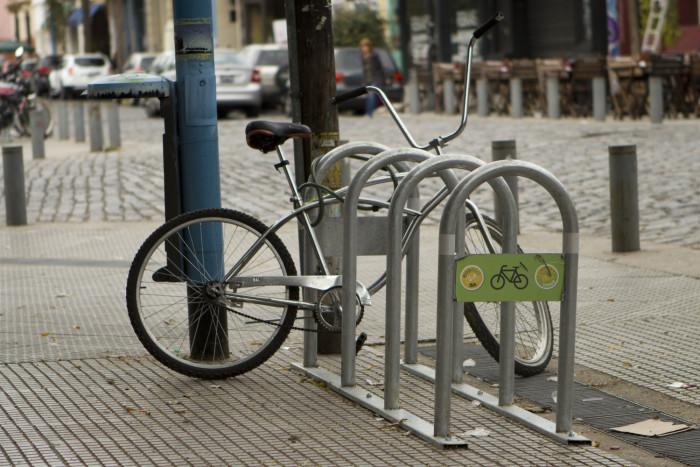 Estacionar la bici