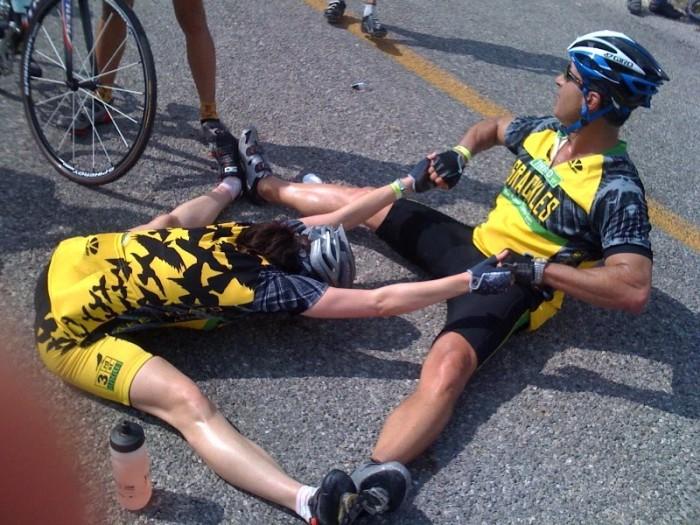 Lesiones del ciclismo