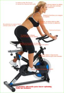 De spinning para bajar ventajas peso del