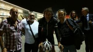 Con Claudio Chiappucci